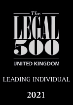 The Legal 500 - Leading Individual 2021 Logo