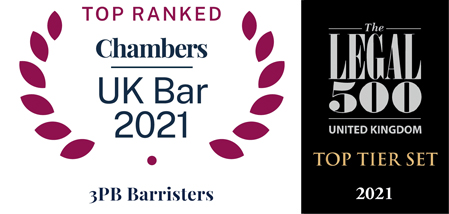 Top Ranked Chambers UK Bar 2019 & Legal 500 Top Tier Set 2021