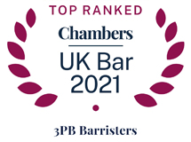 Top Ranked Chambers - Leading Set 2020 - UK Bar Logo