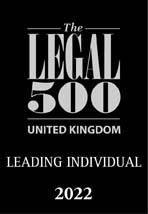 The Legal 500 - Leading Individual 2022 Logo