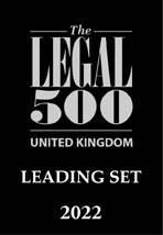 The Legal 500 - Leading Set 2022 Logo