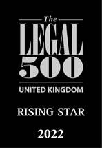 The Legal 500 - Rising Star 2022 Logo
