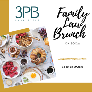 29 April 2021 Family law brunch webinar