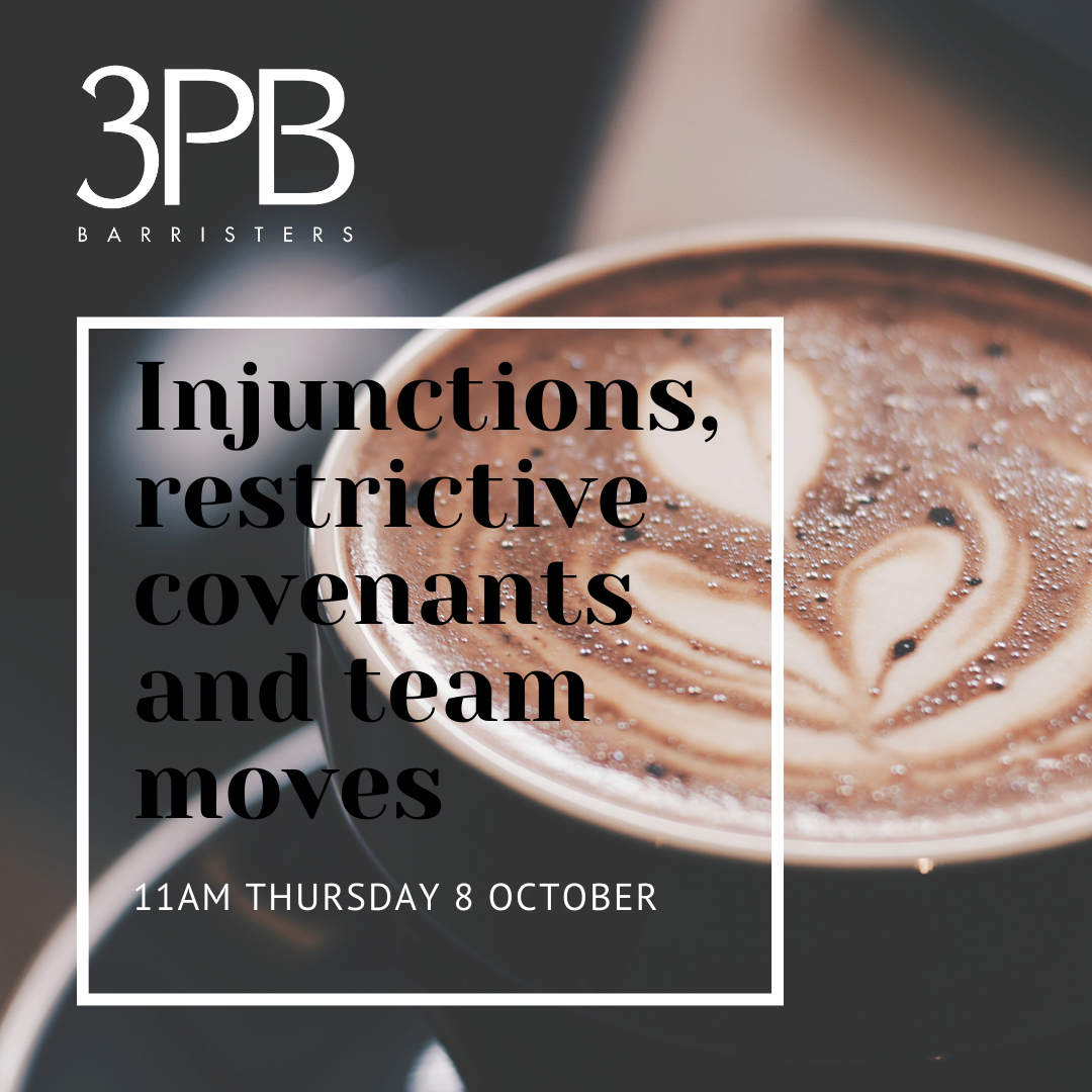 8 October Injunctions