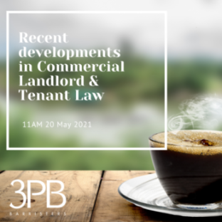 Commercial Landlord & Tenant Law Webinar