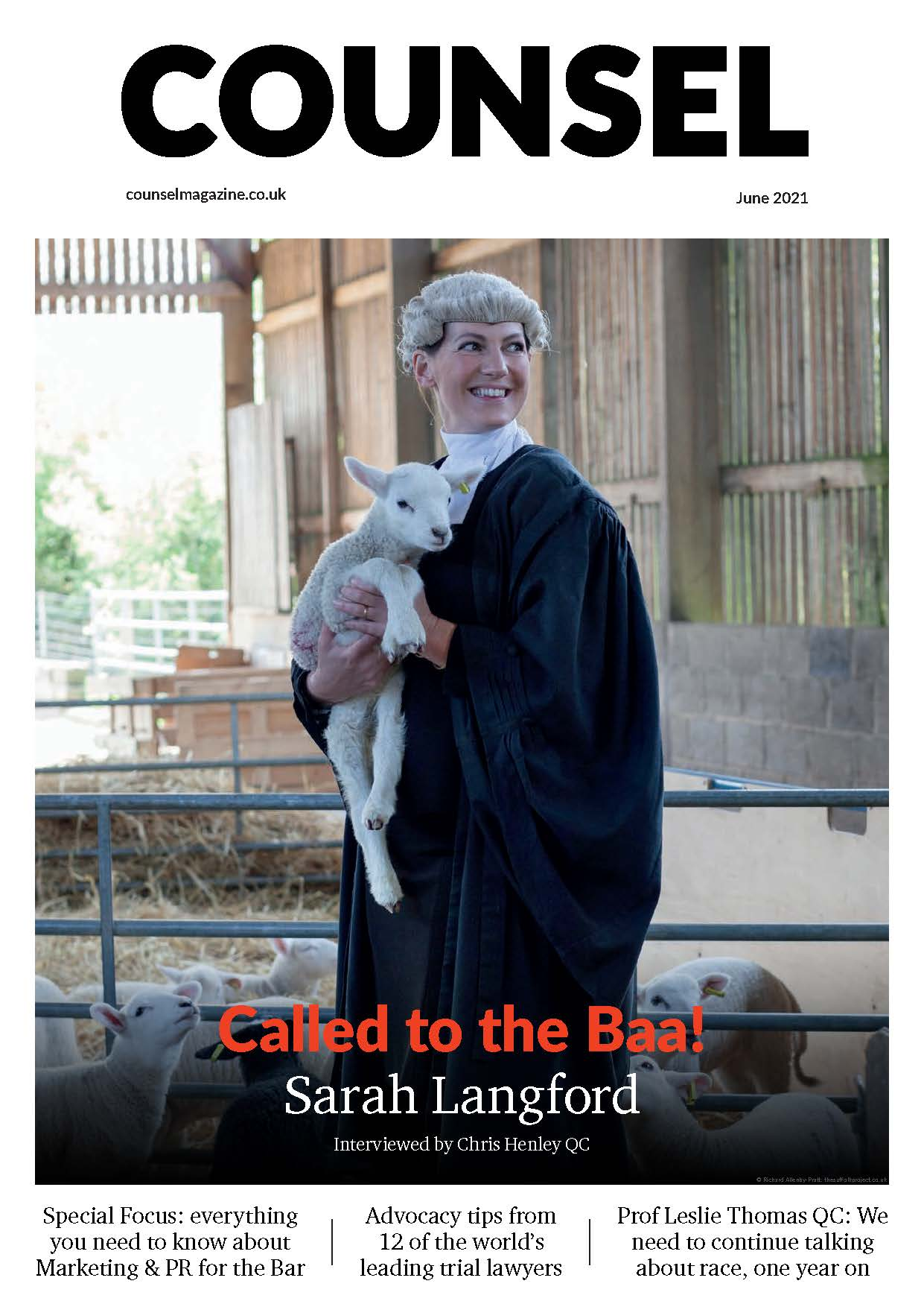 Counsel Magazine June21 Cover
