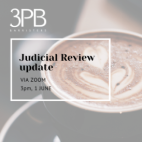 Judicial review webinar