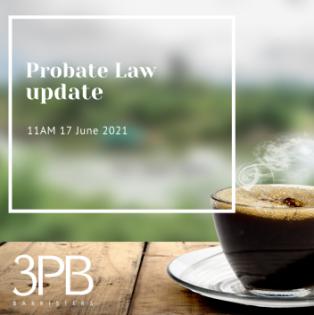 Probate law webinar 17 June