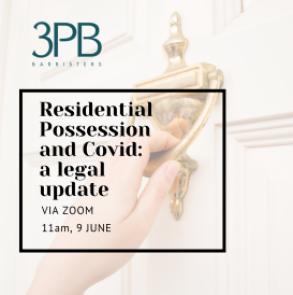 Residential possession webinar 9 June 2021